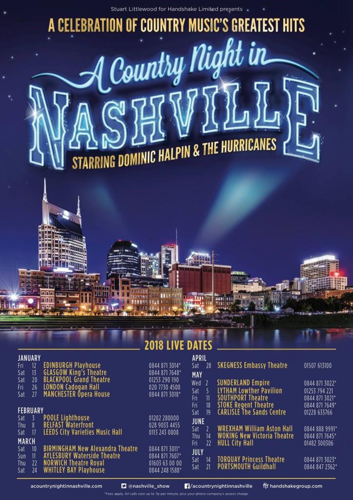 2018 Nashville dates