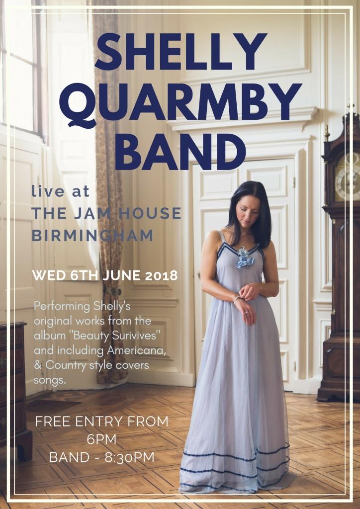 Shelly Quarmby band Jam House Birmingham